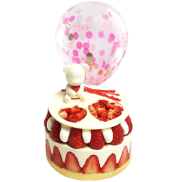 CAKEBOSS 莓好时光芝士水果生日蛋糕6寸