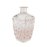 BOMAROLAN 堡玛罗兰 欧式浮雕 玻璃花瓶B款 4.8*6.5*19cm9元包邮
