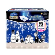 unicharm 尤妮佳 1/2省水保湿化妆棉 姆明限定款 40枚/盒8.8元(需用券)