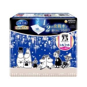unicharm 尤妮佳 1/2省水保湿化妆棉 姆明限定款 40枚/盒