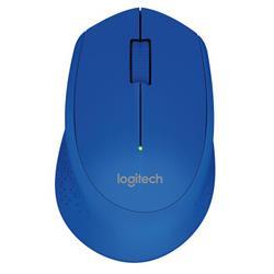 logitech 罗技 M275 2.4G蓝牙 无线鼠标 1000DPI 蓝色