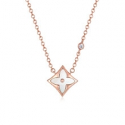 Max&Love 四叶草钻石项链 约45cm68元包邮(双重优惠)