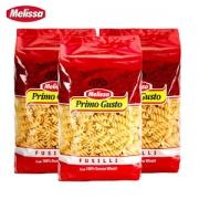 希腊原装进口 麦丽莎 杜兰全麦 螺旋意大利面 500g*3袋17.9元吃货价