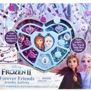 prime会员!Disney 冰雪奇缘2艾莎安娜串珠儿童项链玩具套装DIY  到手约¥91.08