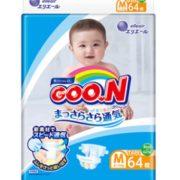 88VIP!GOO.N 大王  维E 婴儿纸尿裤 M64片 3包¥161.08 2.9折