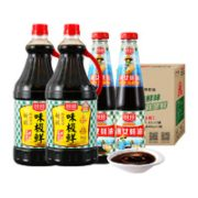 88VIP!厨邦  味极鲜酱油1.63L*2+渔女蚝油490g*2¥25.28 3.9折