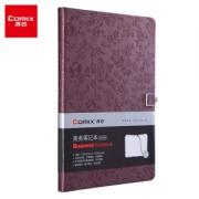 Comix 齐心 C5836 18K 122张 磁扣笔记本 花锦系列 酱紫13.5元(需买5件,拍下立减,共67.5元)