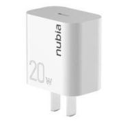 nubia 努比亚 PA0101 20W 单C口PD充电器28元包邮(双重优惠)