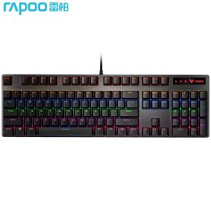 RAPOO 雷柏 Rapoo 雷柏 V500PRO 混光机械键盘 游戏键盘 茶轴