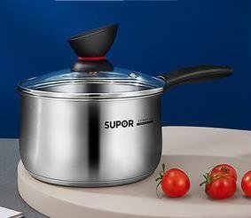 SUPOR 苏泊尔 ST16Z1 不锈钢多功能小煮锅 16cm