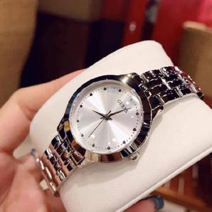 GUESS 盖斯 钢带超薄石英女手表 U0989L1 含税到手¥377.98