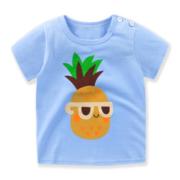 京东PLUS会员:萌趣熊 儿童短袖t恤 3件25元包邮(需用券,8.33元/件)