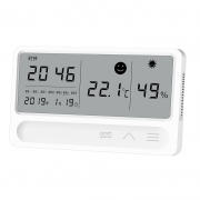 融测 电子室内温度湿度计 日期时间显示29.99元包邮