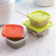 CHAHUA 茶花 带盖保鲜收纳盒 方形780ml+长方形830ml 6个装¥11.13 1.4折 比上一次爆料降低 ¥1.59