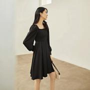 DUIBAI 对白 BDQ013B 女士中长A字连衣裙84元(需用券)