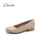 Clarks 其乐 Juliet Monte朱莉系列 浅口低跟真皮单鞋313.46元包邮(天猫557元)