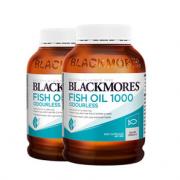 88VIP:BLACKMORES 澳佳宝 深海鱼油胶囊 400粒*2瓶 199.5元包税包邮(需付定金30元,尾款169.5元)