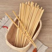 无漆无蜡!CORN 玉米 家用竹木筷子  20双¥5.90 1.5折