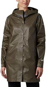 XS码!Columbia 哥伦比亚 OutDry Ex™ Mackintosh 女士中长款防雨冲锋衣 到手约¥360.58