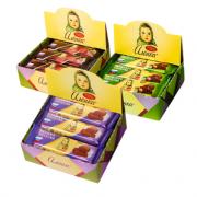 俄罗斯进口!Alenka 爱莲巧 大头娃娃 纯可可脂牛奶黑巧榛子巧克力 540g¥29.90 1.9折