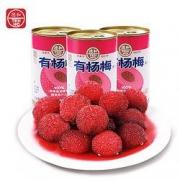 PLUS会员:TEH HO 德和 水果罐头 400g*1罐*6件47.8元(多重优惠,合7.97元/件)