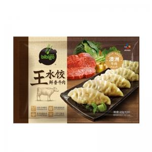 88VIP:bibigo 必品阁 鲜香牛肉王水饺 600g *4件