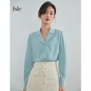 PLUS会员:FANSILANEN 范思蓝恩 Z210096 女款雪纺衬衫79元包邮(多重优惠)