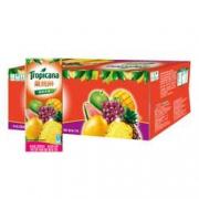 PLUS会员、限地区:PEPSI 百事 果缤纷 热带美味果汁 250ml*24盒 *2件48.86元(合24.43元/件)