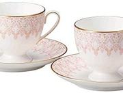 Narumi 鸣海 Aurora系列 双人骨瓷杯碟套装 52251-20861 含税到手¥303.76¥278.42