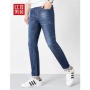 Hodo 红豆 HMDJB1K1353  男士中腰牛仔裤68.4元包邮(需用券)