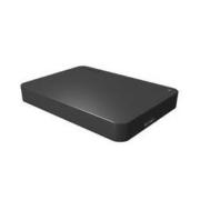 TOSHIBA 东芝 A3系列 新小黑A3 2.5英寸 Type-C便携移动硬盘 USB3.0 2TB 商务黑