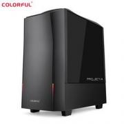 COLORFUL 七彩虹 黑鳍鲨 台式整机(i5-10400、16GB、500GB SSD、GTX1660 SUPER)
