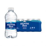 AQUAFINA 纯水乐 饮用纯净水矿泉水350mL*24瓶