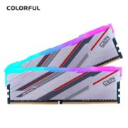 COLORFUL 七彩虹 捍卫者系列 DDR4 3200MHz 台式机内存条 16G(8Gx2)