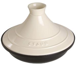 prime会员!Staub Tajine 铸铁基座陶瓷圆顶 塔吉锅20cm  直邮含税到手¥433.84