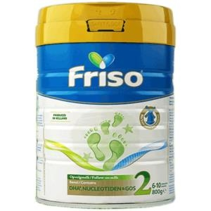 Friso 美素佳儿 荷兰版 婴儿配方奶粉 2段 800g罐
