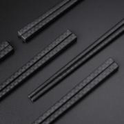 不易发霉、变形!唐宗筷 耐高温不易滋生细菌 合金筷子 10双装¥9.90