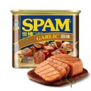 SPAM世棒 午餐肉罐头蒜香口味 340g*8件99.6元(双重优惠,合12.45元/件)