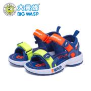 88VIP:BIG WASP 大黄蜂 男童休闲凉鞋 27-30码46.36元