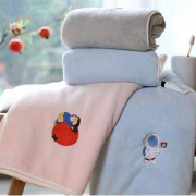 softkiss 浴巾 男女A类纯棉加厚大浴巾 蓝色90*1809.9元