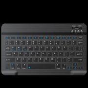inphic 英菲克 V750B 78键 双模无线键盘 黑色 无光