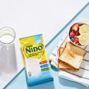 荷兰原装进口 雀巢 NIDO 脱脂高钙牛奶粉 400g*4袋 独立小包装138元盛典价