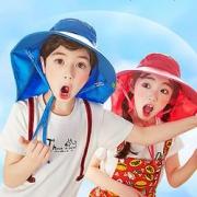 kocotree kk树 儿童防紫外线遮阳帽19元包邮