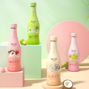 0脂0卡!优之良 桃子葡萄蜜橘味饮料汽水 380ml*12瓶装¥9.90 2.5折