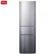 TCL BCD-210TWZ50 三门定频冰箱 210L 典雅银989元包邮
