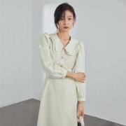 FANSILANEN 范思蓝恩 Z210281 女士法式复古连衣裙139元包邮(双重优惠)