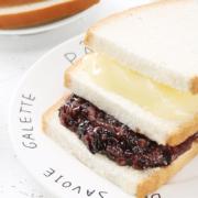 莫点 紫米面包 黑米夹心奶酪 手撕三明治蛋糕500g整箱*211.8元(需用券)