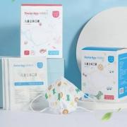 袋鼠医生 儿童3d立体口罩30支+印花灭菌医疗口罩30支19元包邮
