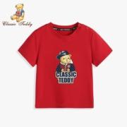 CLASSIC TEDDY 精典泰迪   多色可选 儿童短袖T恤*2件39.8元包邮(折合19.9元/件)