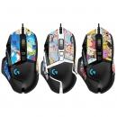 logitech 罗技 G502 HERO 主宰者 熊猫版 游戏鼠标+鼠标垫+脚贴249元包邮